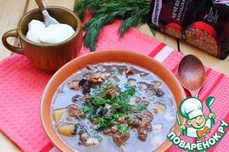 Рецепт: Суп с чечевицей по-армянски Воспи апур