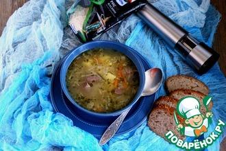Рецепт: Суп с потрошками индейки «Уютный»