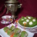Зеленые блины из кабачков