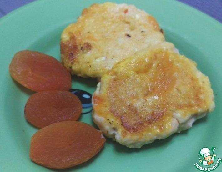 Рецепт: Оранжевые сырники