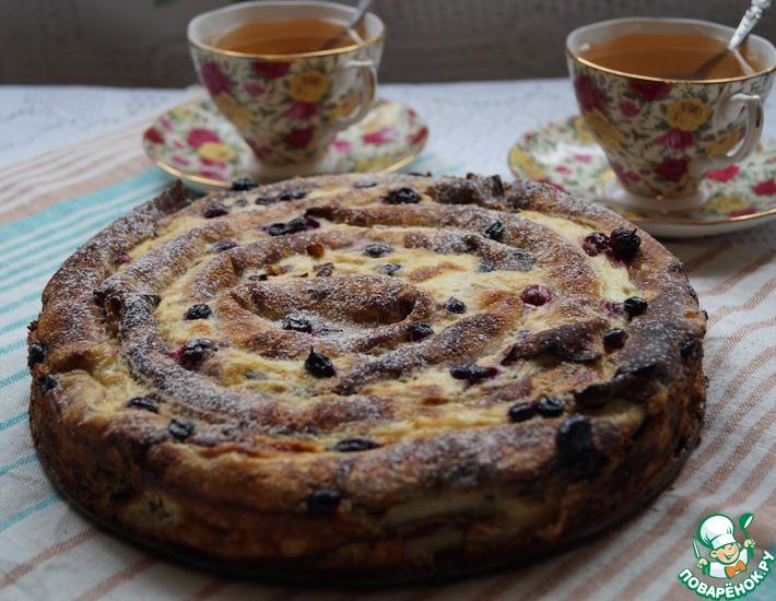 Рецепт: Пирог блинный Тёщины вечерки