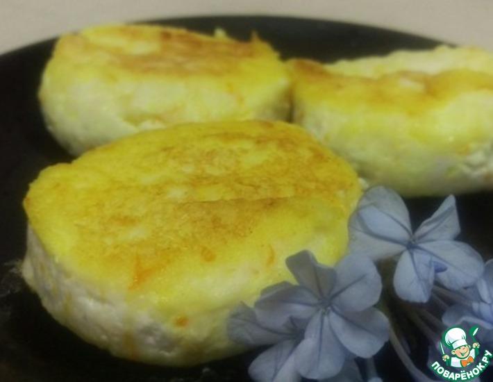 Рецепт: Сырники с ароматом ванили