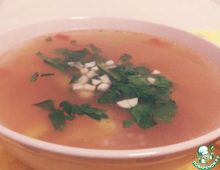 Рецепт: Помидорный суп