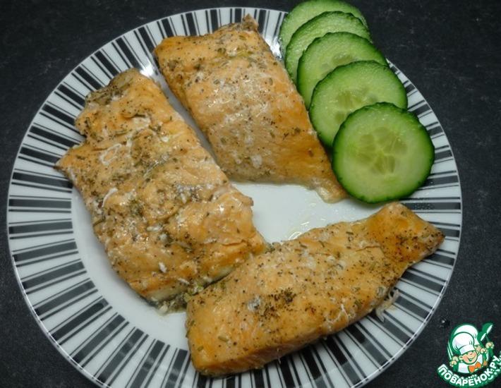 Рецепт: Рыба за 10 минут