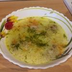 Суп рисовый с мясом