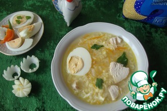 Рецепт: Суп с пшеном Золотой