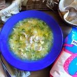 Суп из индейки с секретом