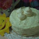 Блинный мини-торт Цитрусовая нежность