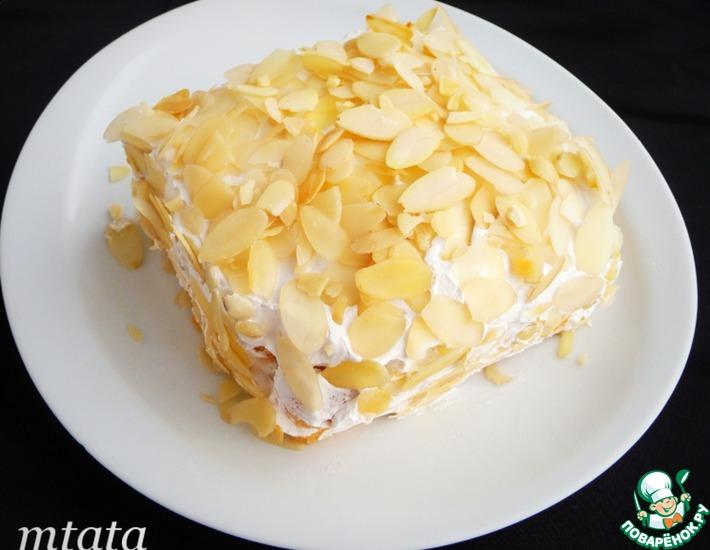 Рецепт: Торт простой без выпечки