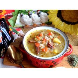 Суп с рисом и картофелем