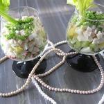 Салат с кальмарами Освежающий
