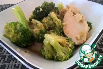 Рецепт: Китайская курица с брокколи