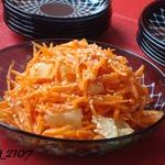 Салат из моркови с ананасом