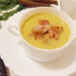 Гороховый суп-пюре с чоризо