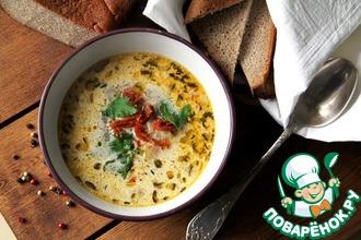 Рецепт: Суп с кус-кусом и вялеными томатами