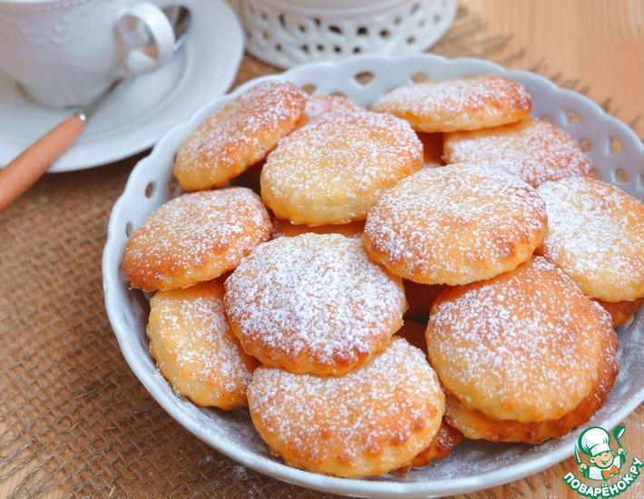 Рецепт: Печенье Творожнички