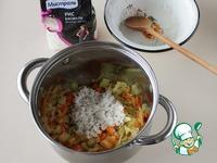 Суп с плавленым сырком и карри ингредиенты