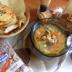 Рыбный суп с мойвой