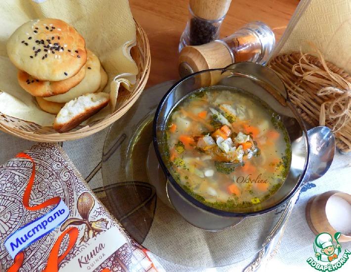 Рецепт: Рыбный суп с мойвой