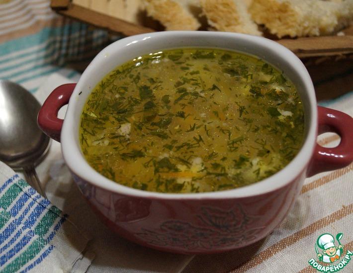 Рецепт: Суп Полевой из детства