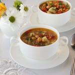 Фитнес-суп овощной
