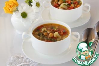 Рецепт: Фитнес-суп овощной