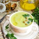 Суп-пюре с нутом и овощами