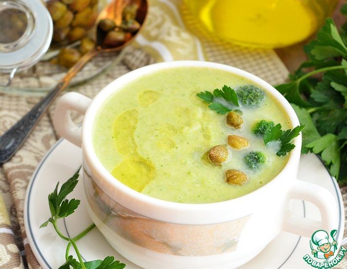 Рецепт: Суп-пюре с нутом и овощами