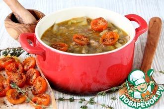 Рецепт: Запеченный куриный суп Канадский