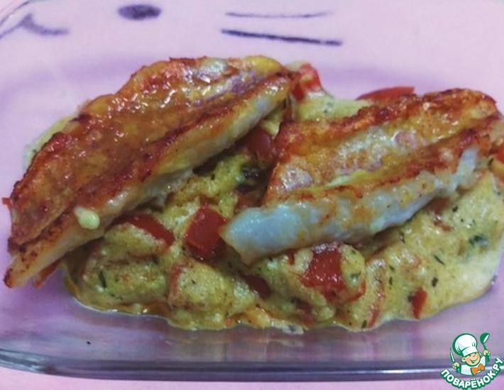 Рецепт: Жареная рыба под соусом