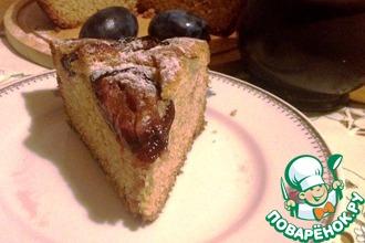 Рецепт: Сливовый пирог с кардамоном
