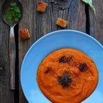 Мароканский пряный морковный суп