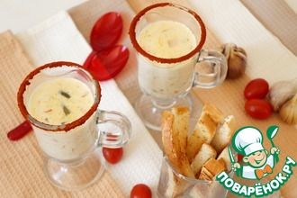 Рецепт: Рисовый суп с сыром
