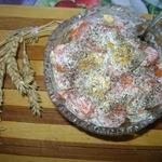 Салат из моркови и яиц