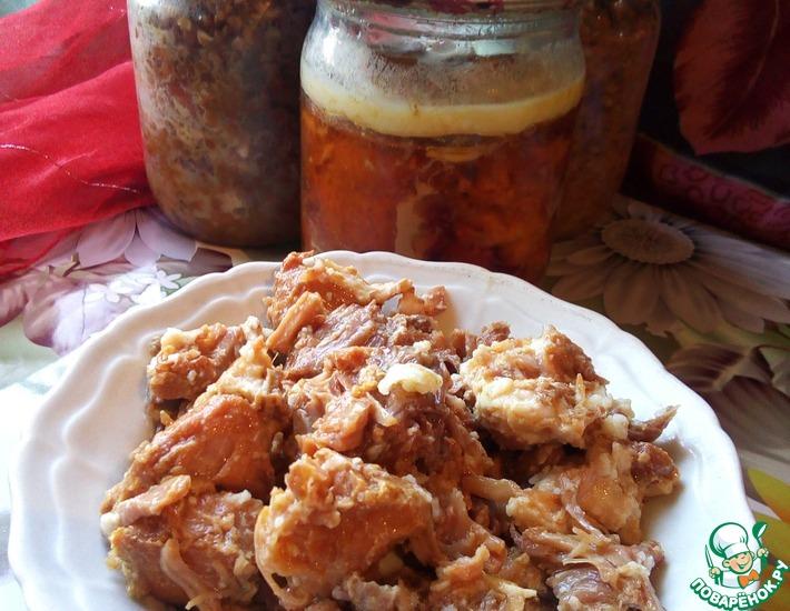 рецепт домашней тушенки из свинины в автоклаве