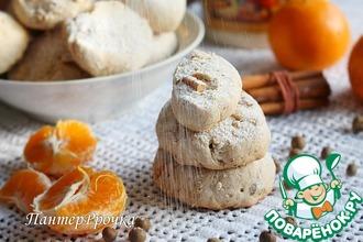 Рецепт: Тосканское печенье Сьенские кавалуччи