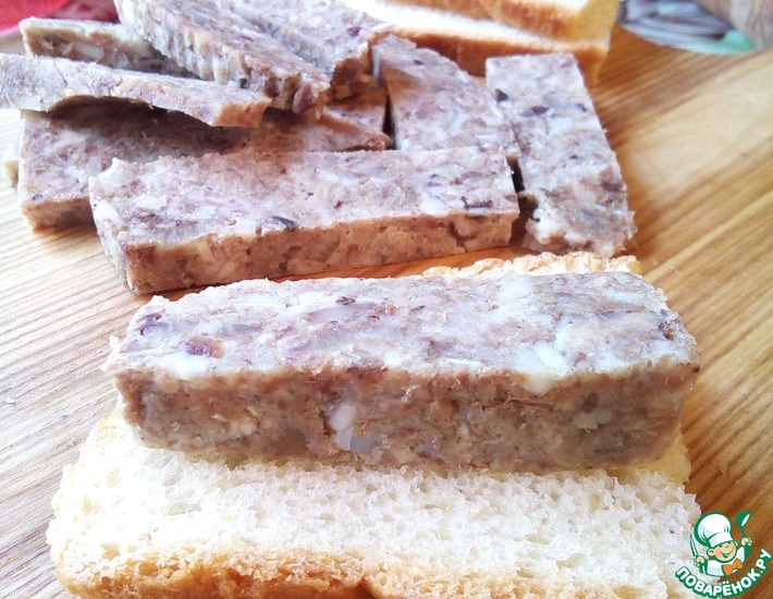 Рецепт: Зельц или колбик по-донбасски