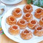 Индийские пирожные с абрикосовым джемом