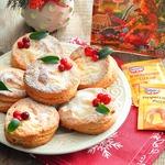 Творожное печенье с творожной начинкой