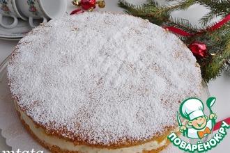 Рецепт: Торт «Кусочки янтаря»