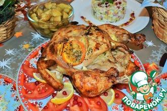 Рецепт: Курица К Рождеству