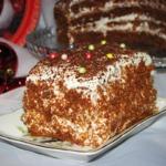 Шоколадный торт Наслаждение