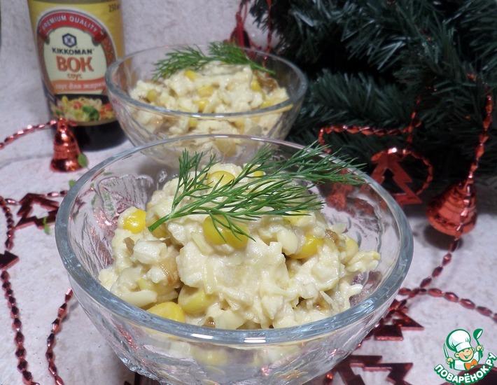 Рецепт: Салат Вок-лук