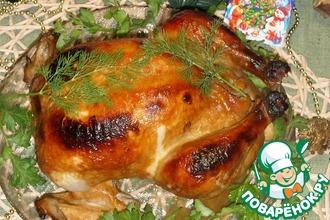Рецепт: Курица Новогодняя-2
