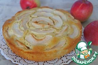 Рецепт: Яблочный пирог по-нормандски