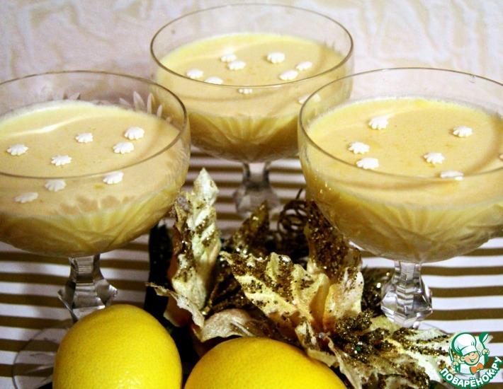 Рецепт: Лимонный мусс