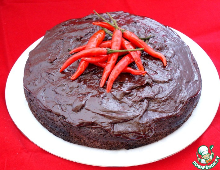 Рецепт: Мексиканский шоколадный пирог