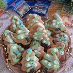 Творожное печенье Ёлочка