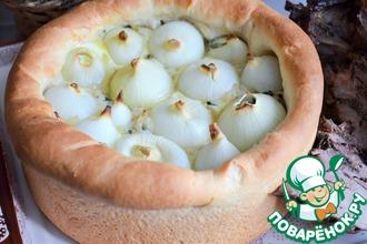 Рецепт: Пирог луковый Сугробы