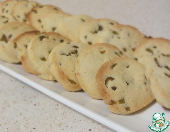 Рецепт: Французское печенье Сабле с солеными оливками